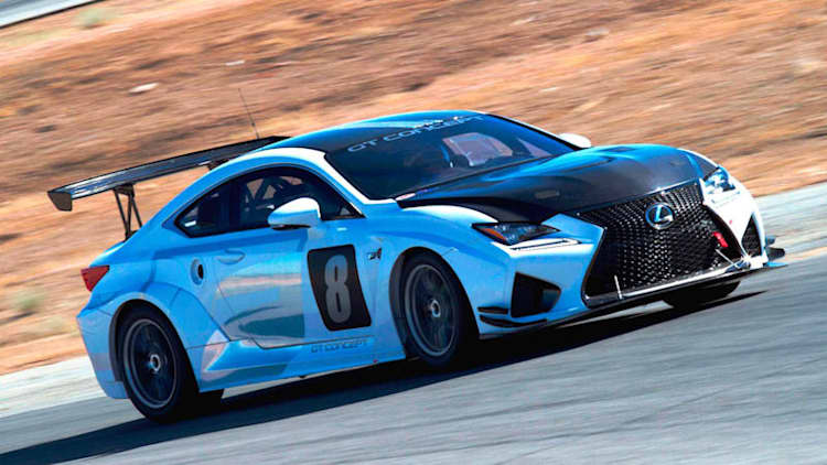 Lexus takes to Pikes Peak in RC F GT Concept