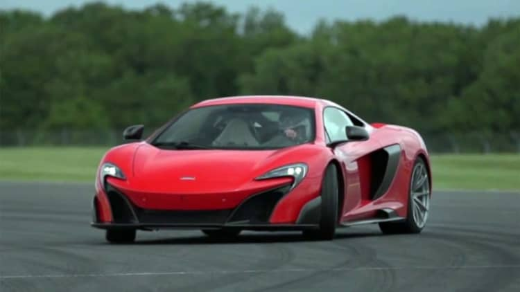 Chris Harris gets his mitts on McLaren 675LT at Silverstone