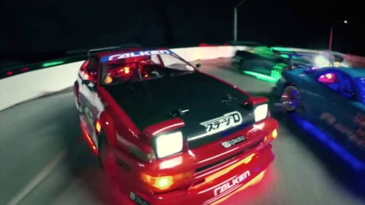 RC car drift video brings Fast and Furious style in 1:10 scale