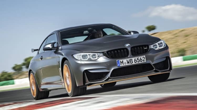 Watch the BMW M4 GTS lap the Nurburgring in under 7:28