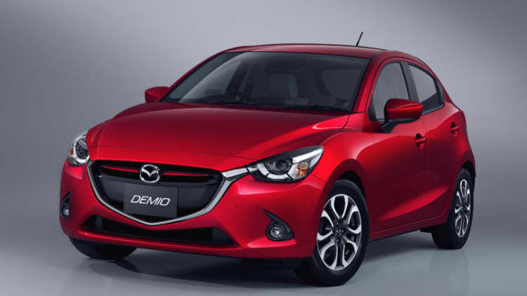 2016 Mazda2 won't come to the US