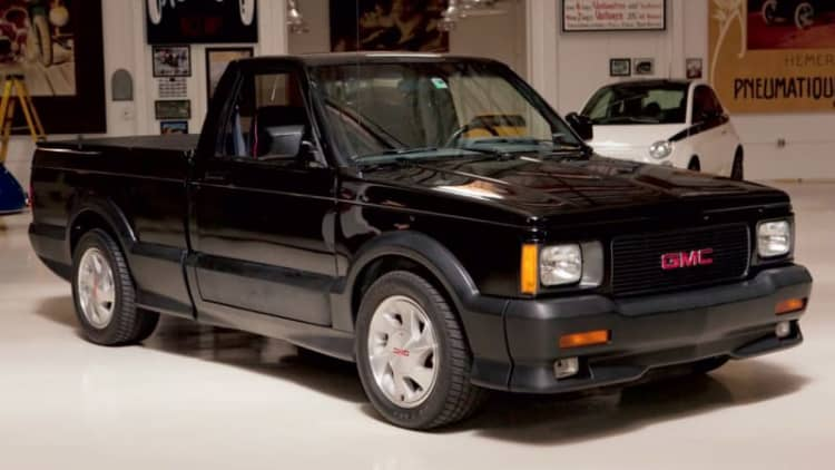 GMC Syclone spools up a storm on Jay Leno's Garage