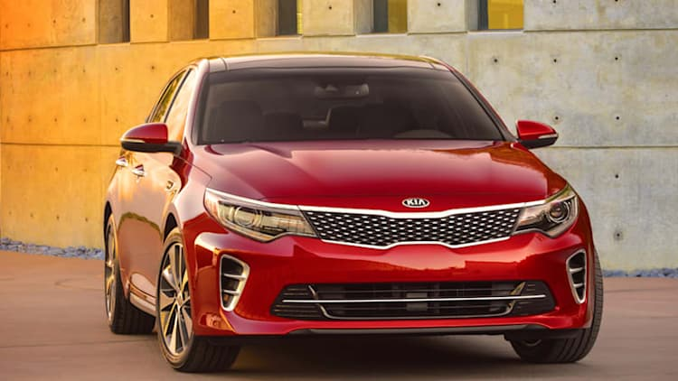 Kia offers first glimpse at new Optima ahead of New York debut