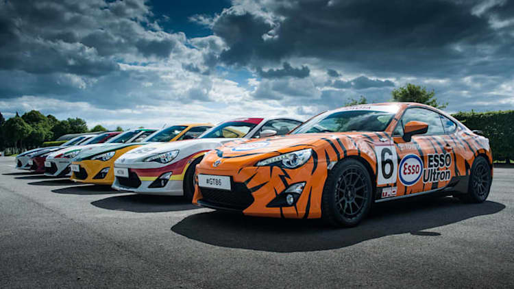 Toyota bringing sextet of retro-liveried GT86s to Goodwood [w/poll]