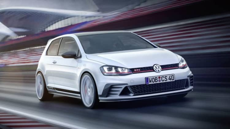Volkswagen reveals Golf GTI Clubsport concept at Worthersee