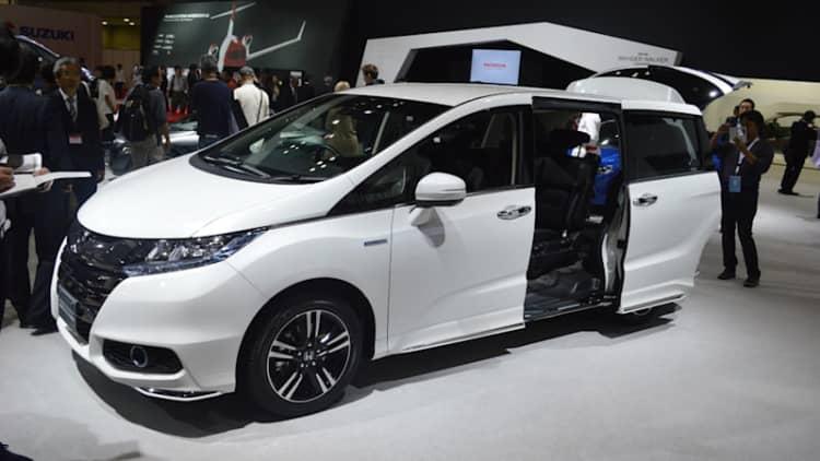 On sale in Japan, Honda won't bring $31k Odyssey Hybrid to US
