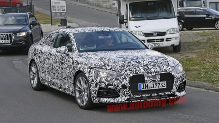 New Audi A5 to debut in Ingolstadt on June 2