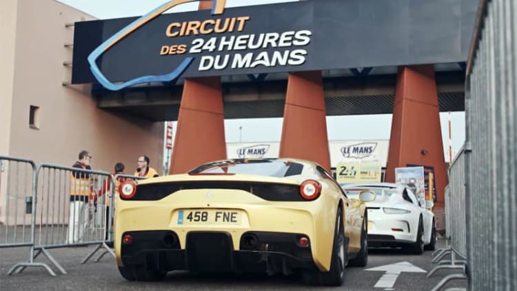 Ferrari Speciale and Porsche GT3 make the trip to Le Mans