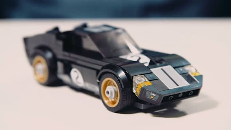 A Lego designer talks about how to make a tiny Ford GT40 out of bricks