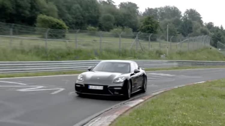 Porsche Panamera Turbo sets new Nurburgring record