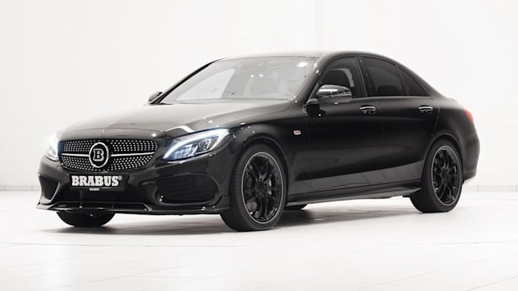 Brabus gives Mercedes C450 AMG Sport a little extra oomph