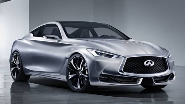 Infiniti Q60 to pack upwards of 400 horsepower