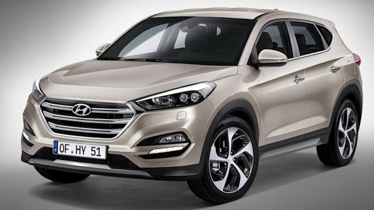 2016 Hyundai Tucson shows off its European trim ahead of Geneva
