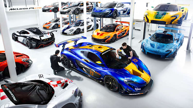 What livery would you choose for your McLaren P1 GTR?
