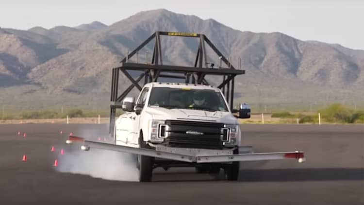 Ford's Super Duty skeleton camper is straight out of Mad Max