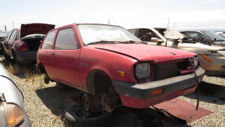 Junkyard Gem: 1986 Chevrolet Sprint