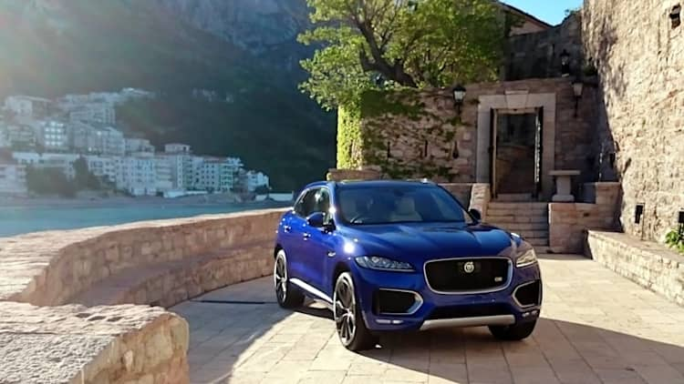 On Location in Montenegro with Jaguar