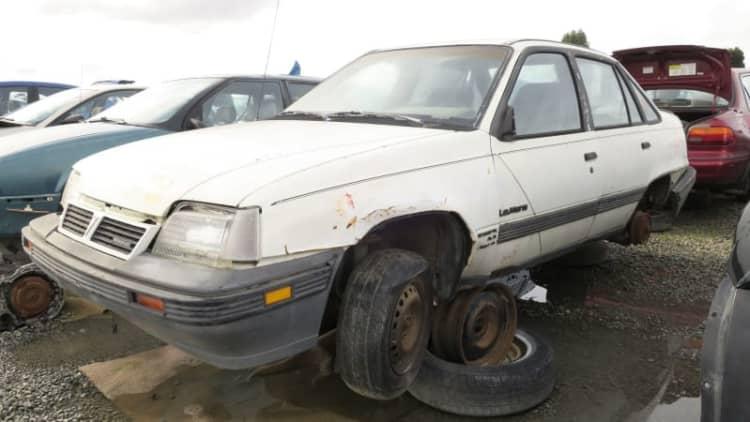 Junkyard Gem: 1988 Pontiac LeMans Sedan