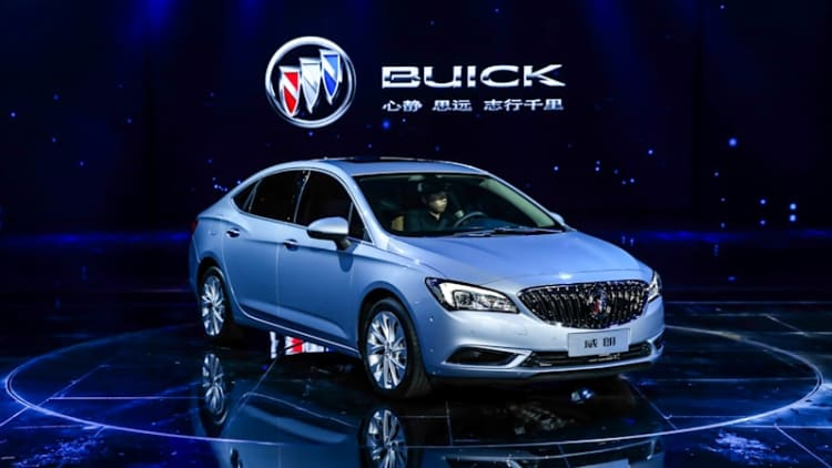 Buick reveals new Verano in Shanghai