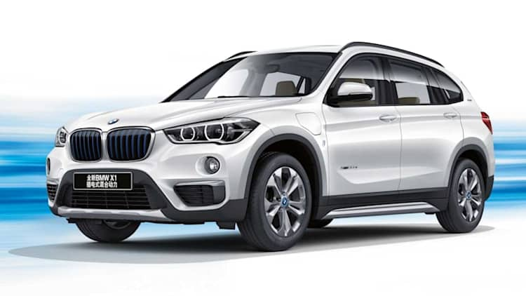 BMW just launched a new plug-in hybrid CUV, but only for China