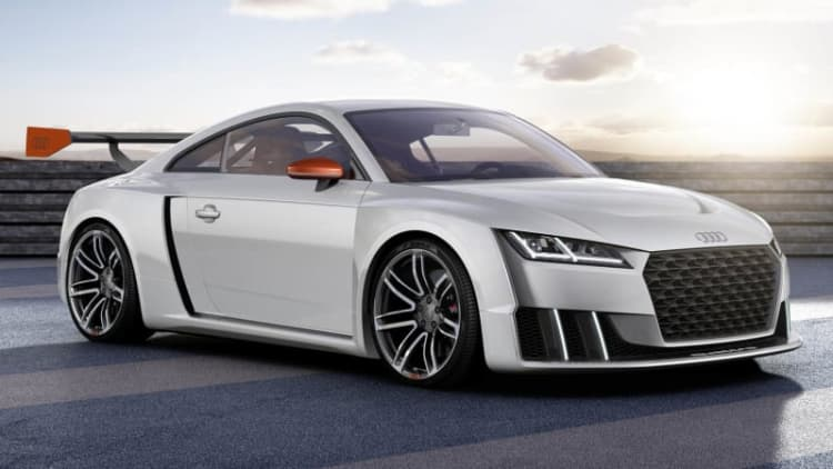 Audi bringing TT Clubsport Turbo concept to Worthersee