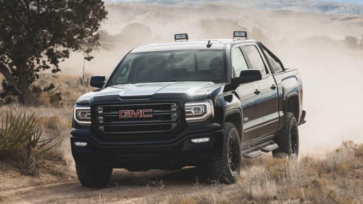 2016 GMC Sierra All Terrain X is cool but no Raptor threat