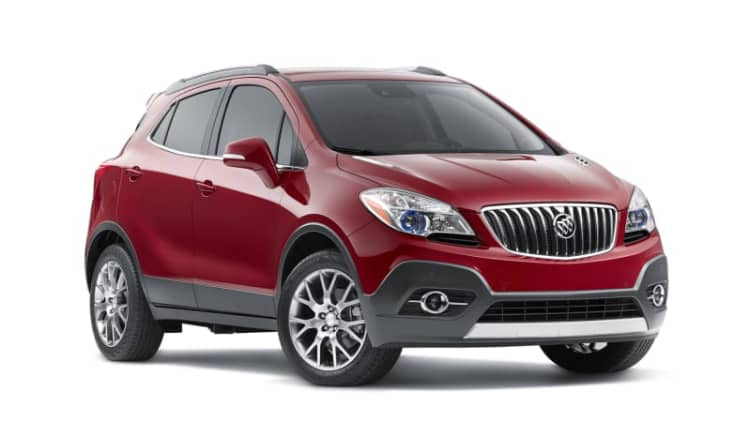 Buick rolls out more potent Encore Sport Touring