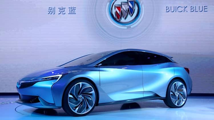 Buick Velite Plug-In Hybrid Concept debuts to little fanfare