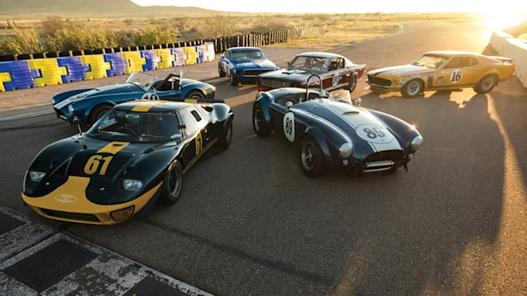 Cobras, Mustangs, and Ford GT40 set for Monterey auction