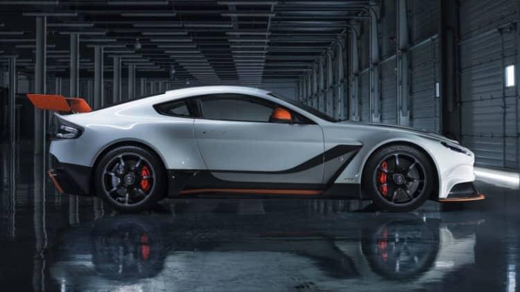 Aston Martin renames Vantage GT3 after Porsche throws hissy fit