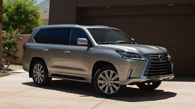 Updated 2016 Lexus LX 570 bows in Monterey