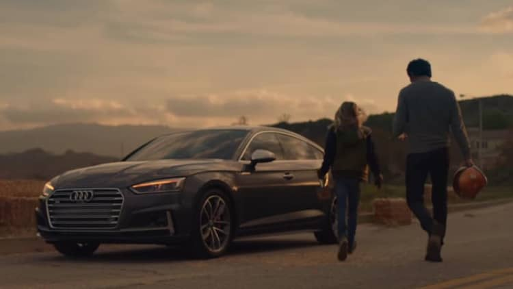 Audi's Super Bowl commercial hopes for a more equal future