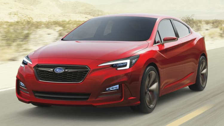 Subaru Impreza Sedan Concept previews future four-door in LA