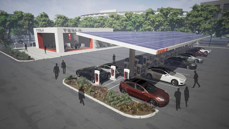Tesla will double its worldwide Superchargers this year