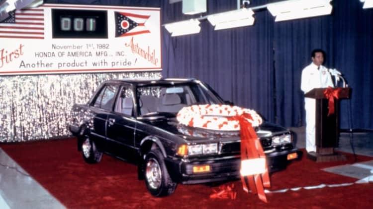Happy 40th birthday, Honda Accord!