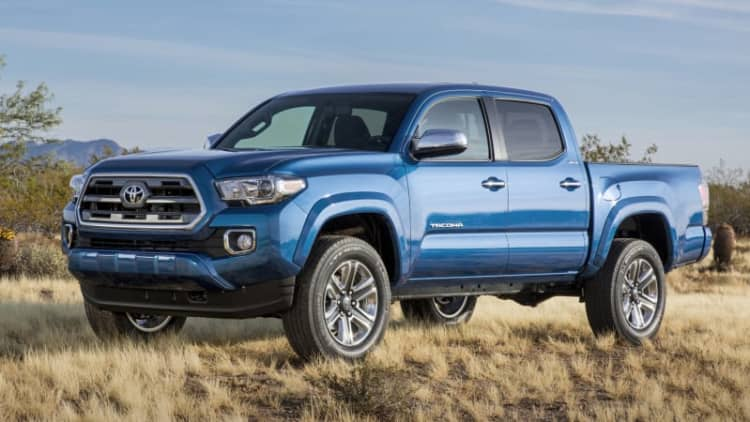 Toyota recalls 310 units of 2016 Tacoma to replace airbag bolts