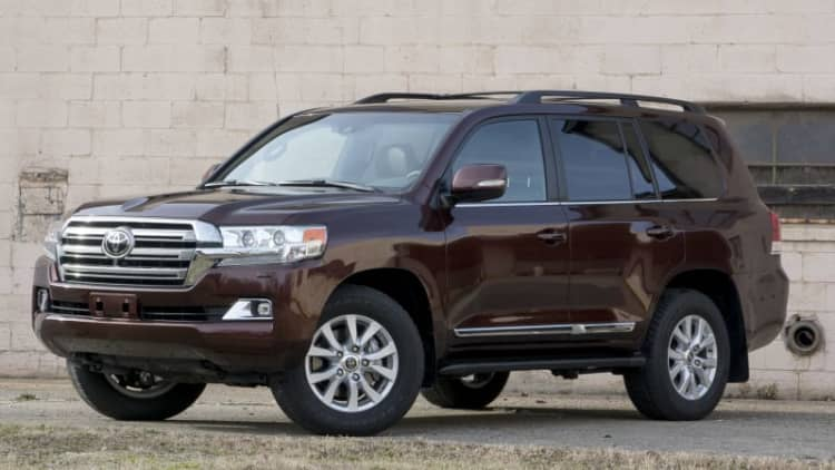 2016 Toyota Land Cruiser Quick Spin [w/video]
