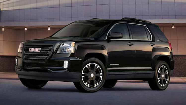 GMC Terrain Nightfall Edition is murdered-out for the masses