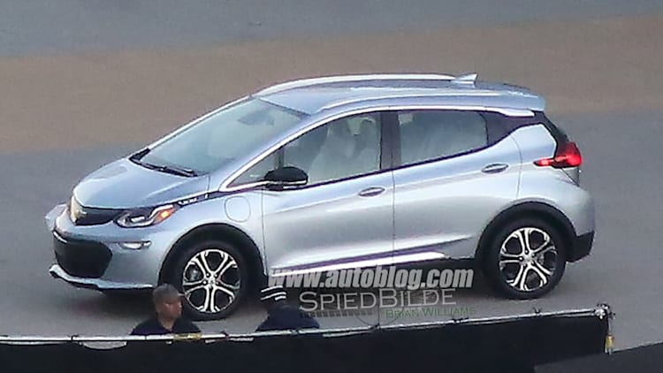 Here's the production Chevy Bolt