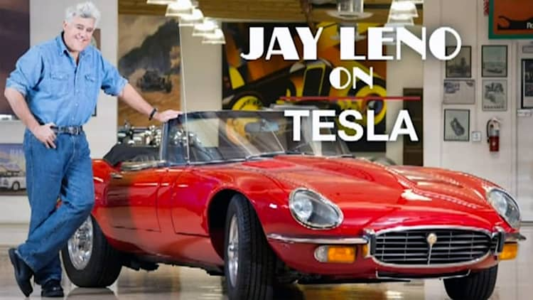 Why Jay Leno felt like 'an idiot' when he bought a Tesla