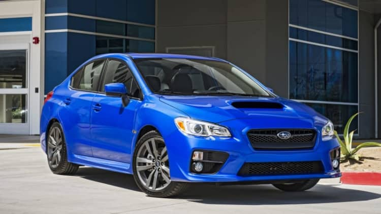 2016 Subaru WRX makes IIHS TSP+ fun
