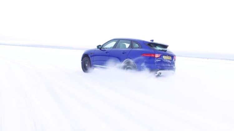 Jaguar puts Mourinho on ice