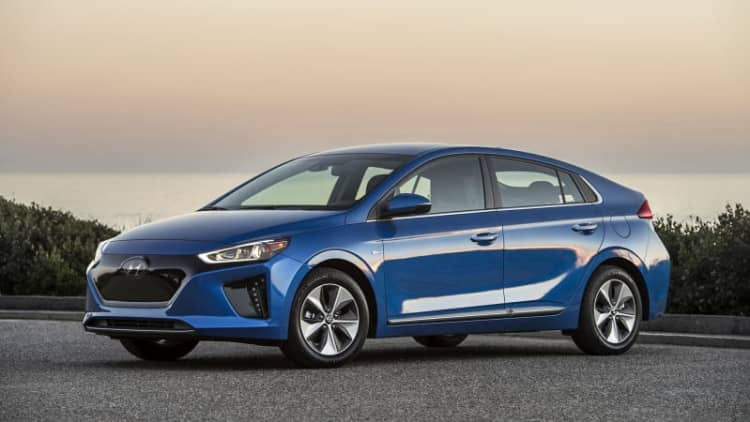Head of the class | 2017 Hyundai Ioniq Electric First Drive