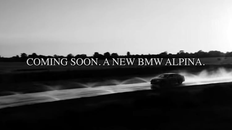 Upcoming new Alpina B7 teased