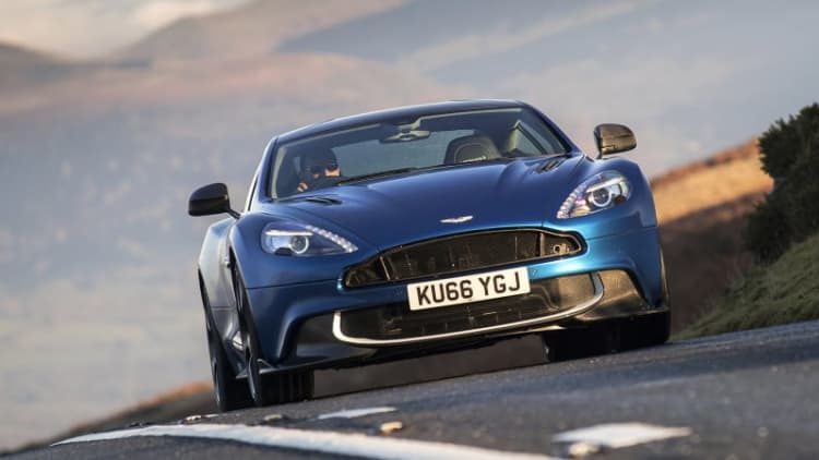 More V12 power, no turbos | 2017 Aston Martin Vanquish S First Drive