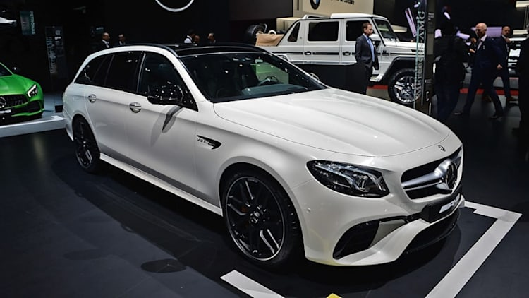 Mercedes will bring the beastly E63 S wagon to the States this fall