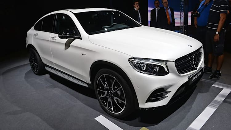 The 2017 Mercedes-AMG GLC43 Coupe: Because everyone wants more fast