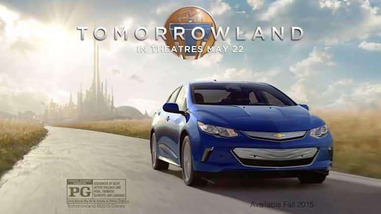 New 2016 Chevy Volt ad arrives in time for Tomorrowland