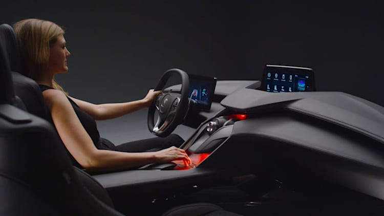 Acura Precision Cockpit Concept is much more than a digital gauge cluster