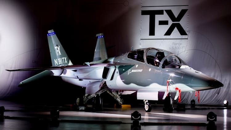 Boeing, Saab introduce entry for T-X trainer program